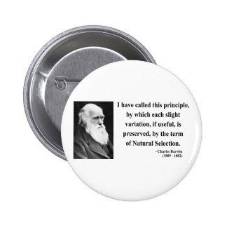 Charles Darwin Quote 6b Buttons
