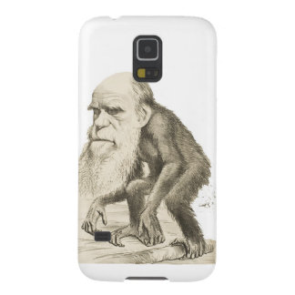 Charles Darwin the Monkey Man Galaxy S5 Cases