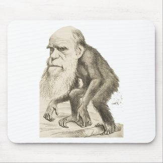 Charles Darwin the Monkey Man Mouse Pad
