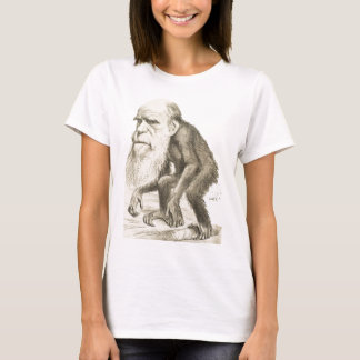 Charles Darwin the Monkey Man T-Shirt
