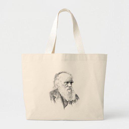 Charles Darwin, The Origin of Species 1872 Tote Bags