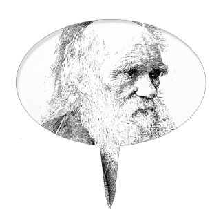 Charles Darwin, The Origin of Species 1872 Cake Toppers