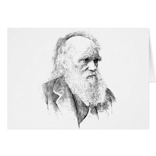 Charles Darwin, The Origin of Species 1872 Card