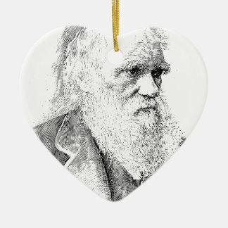 Charles Darwin, The Origin of Species 1872 Ceramic Ornament