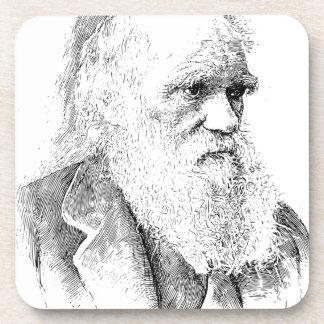 Charles Darwin, The Origin of Species 1872 Beverage Coasters