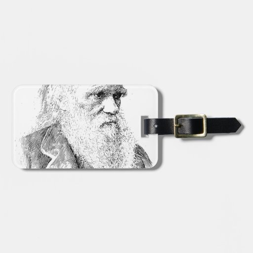 Charles Darwin, The Origin of Species 1872 Tags For Luggage