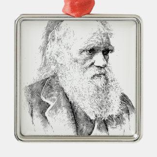 Charles Darwin, The Origin of Species 1872 Metal Ornament