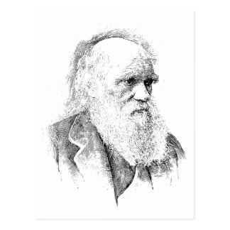 Charles Darwin, The Origin of Species 1872 Postcard