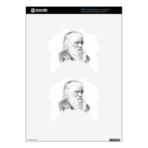 Charles Darwin, The Origin of Species 1872 Xbox 360 Controller Skins