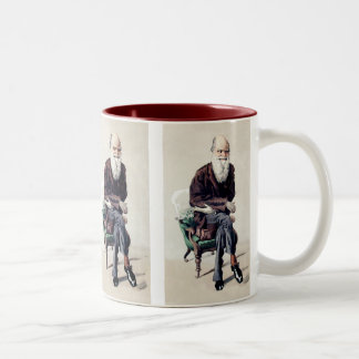 Charles Darwin Vanity Fair Illustration Coffee Mug