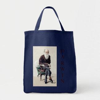 Charles Darwin Vanity Fair Illustration Tote Bag