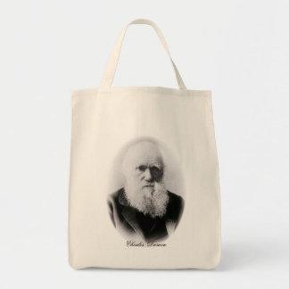 Charles Darwin Vignette Tote Bag