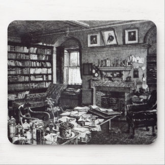 Charles Darwin's study at Down House, 1882 Mouse Pad