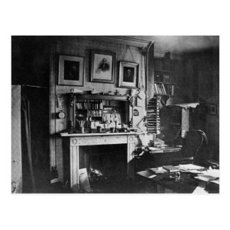Charles Darwin's study at Down House Postcards