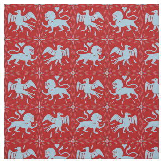 Charles de Blois inspired pattern- customised/red Fabric
