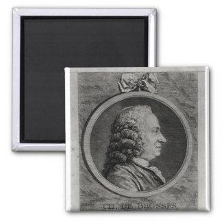 Charles de Brosses , Count of Tournai Refrigerator Magnet