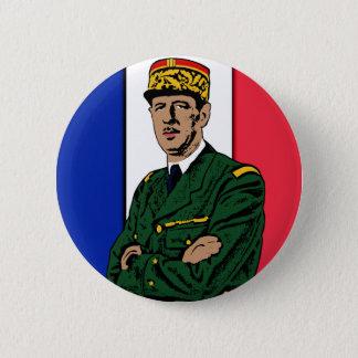 Charles de Gaulle Button