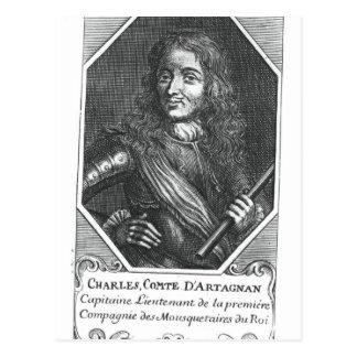 Charles de Montesquiou Count de Artagnan Postales