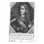 Charles de Montesquiou  Count of Artagnan Postcard