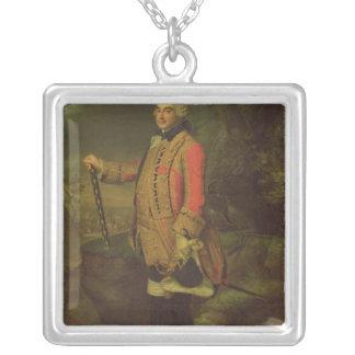 Charles de Rohan  Prince de Soubise Silver Plated Necklace