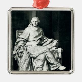 Charles de Secondat  Baron de Montesquieu, 1779 Metal Ornament