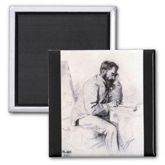 Charles de Toulouse Lautrec by Toulouse-Lautrec Refrigerator Magnets