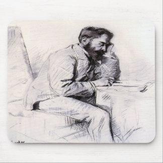 Charles de Toulouse Lautrec by Toulouse-Lautrec Mouse Pads