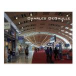 Charles DeGaulle International Airport Postcard