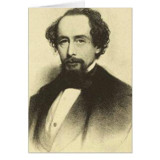 Charles Dickens, 1858 Tarjeta Pequeña