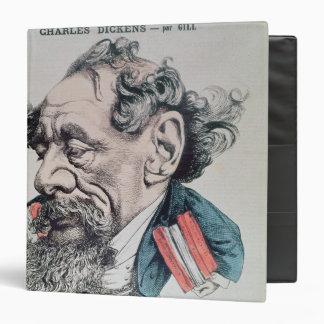 """Charles Dickens a horcajadas en el canal inglés Carpeta 1 1/2"""""""