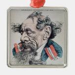 Charles Dickens a horcajadas en el canal inglés Ornamentos Para Reyes Magos
