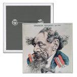 Charles Dickens a horcajadas en el canal inglés Pin