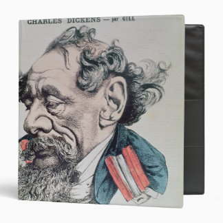 Charles Dickens astride the English Channel 3 Ring Binder