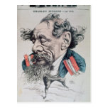 Charles Dickens astride the English Channel Postcards