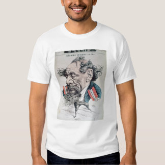 Charles Dickens astride the English Channel T-Shirt