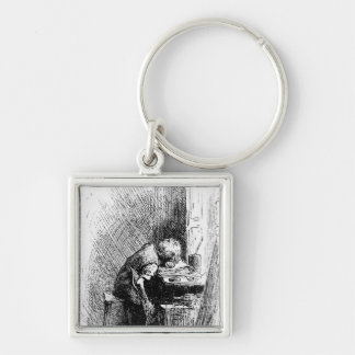 Charles Dickens at the Blacking Factory an Keychain