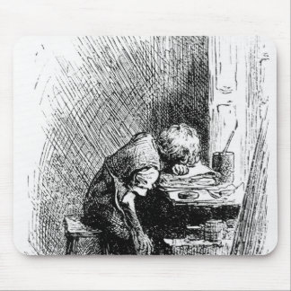 Charles Dickens at the Blacking Factory an Mousepad