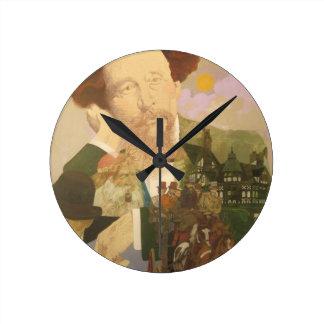 Charles Dickens, autor inglés Relojes De Pared