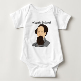 Charles Dickens Baby Bodysuit