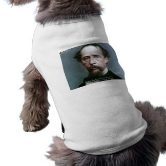 """Charles Dickens """"Charity @Home"""" Quote Gifts Dog Clothes"""