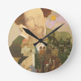 Charles Dickens, English Author Wallclock