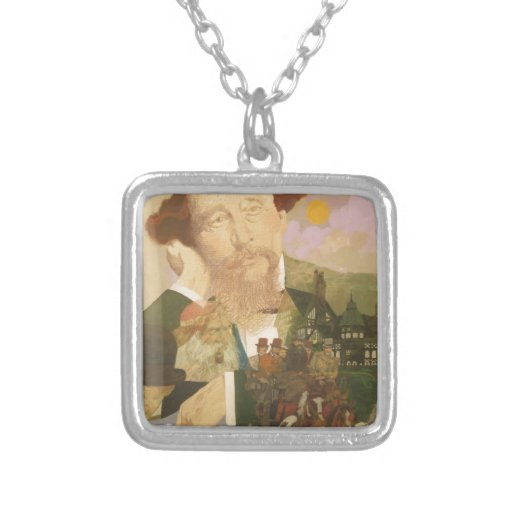 Charles Dickens, English Author Necklaces