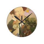 Charles Dickens, English Author Round Clocks