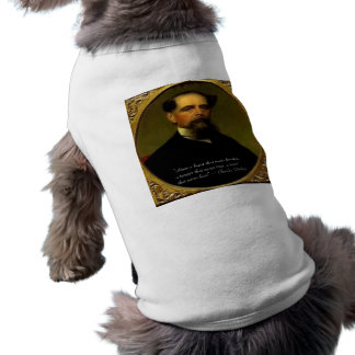 Charles Dickens & Heartfelt Quote Pet Clothes