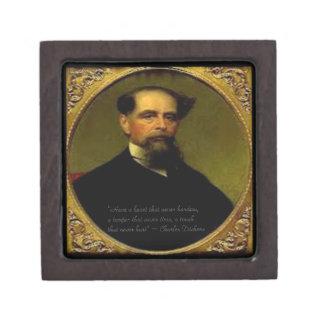 Charles Dickens & Heartfelt Quote Premium Gift Box