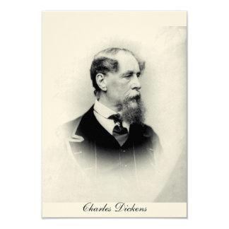 """Charles Dickens Invitación 3.5"""" X 5"""""""