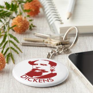 Charles Dickens Keychain