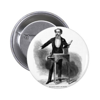 Charles Dickens' Last Reading 2 Inch Round Button