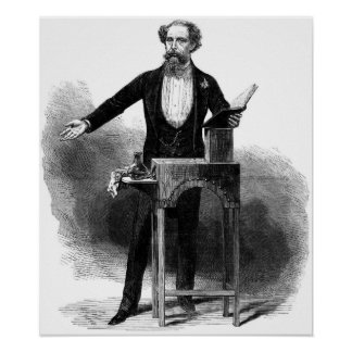 Charles Dickens Last Reading Poster
