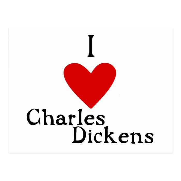 Charles Dickens Love Postcard